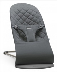 Baby-Bjorn: Bouncer Bliss - Ergonomic Bouncer (Anthracite Cotton)