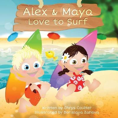 Alex & Maya Love to Surf by Chrys Coulter image