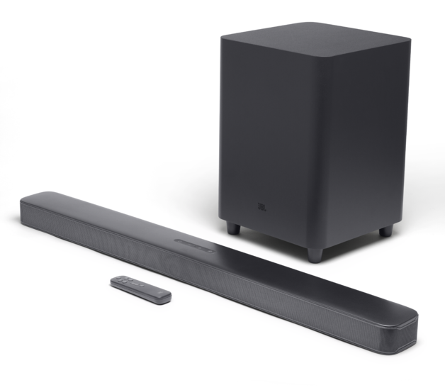JBL: Bar 5.1 Soundbar - with Wireless Subwoofer