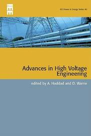 Advances in High Voltage Engineering by Manu Haddad