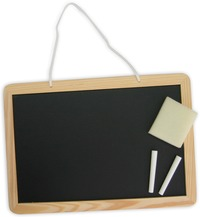 Fun Factory - Blackboard with Chalks & Duster