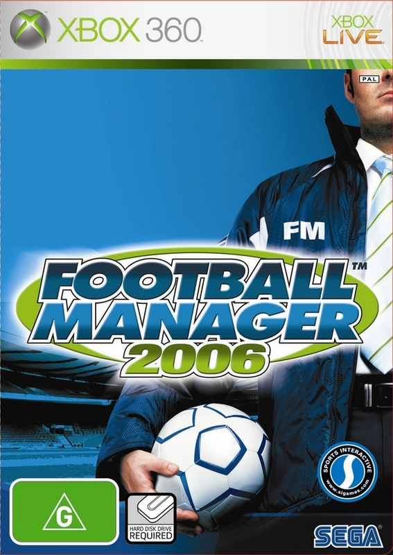 Football Manager 2006 for Xbox 360