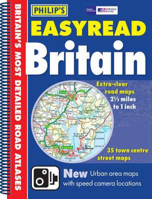 Philip's Easyread Atlas Britain: 2006