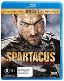 Spartacus: Blood and Sand - The Complete First Season Uncut on Blu-ray
