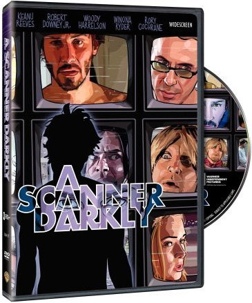 A Scanner Darkly on DVD image