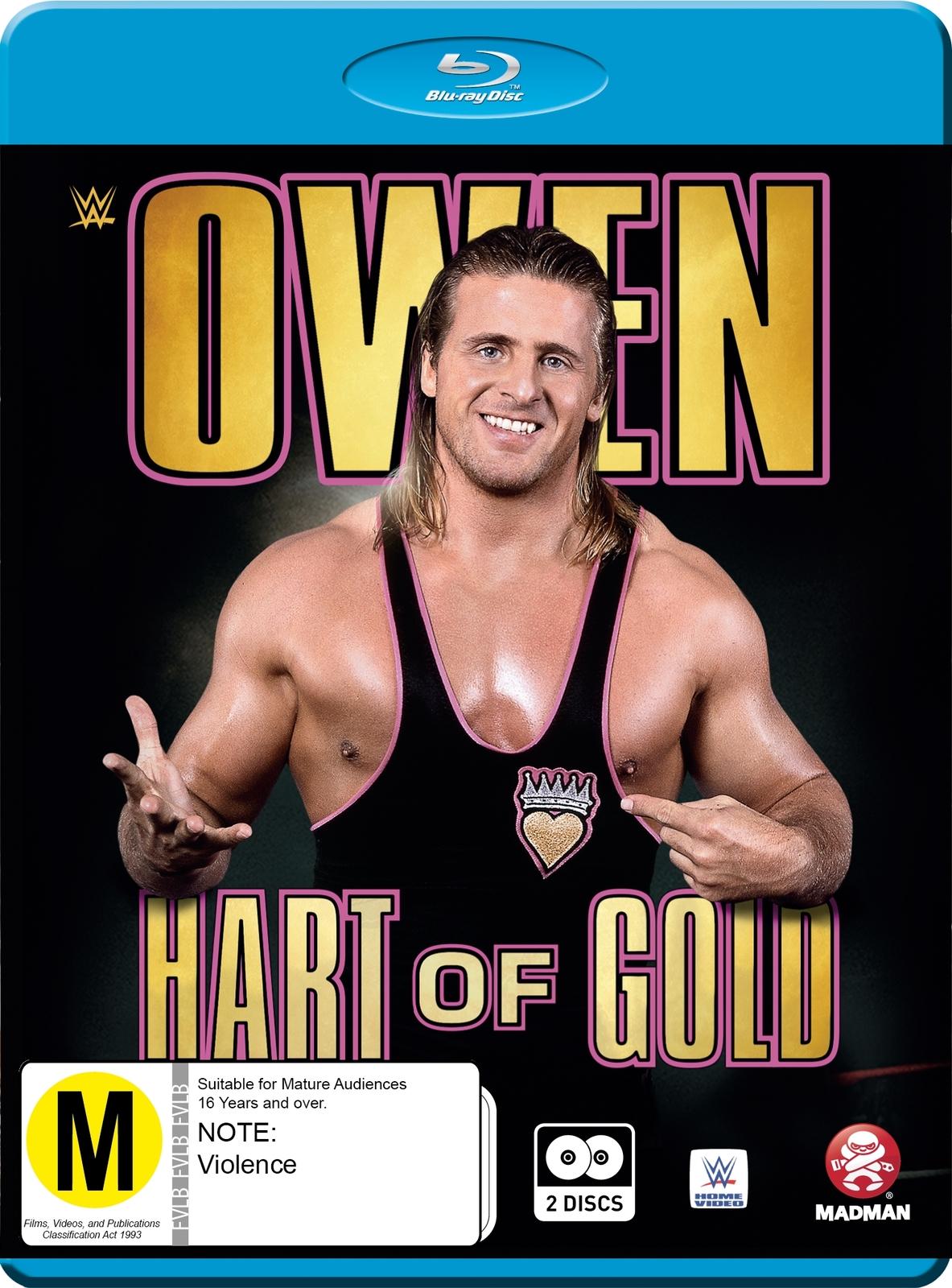 WWE - Owen: Hart Of Gold on Blu-ray image