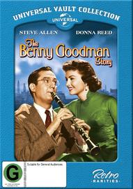 The Benny Goodman Story on DVD