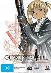Gunslinger Girl - Vol 2 on DVD