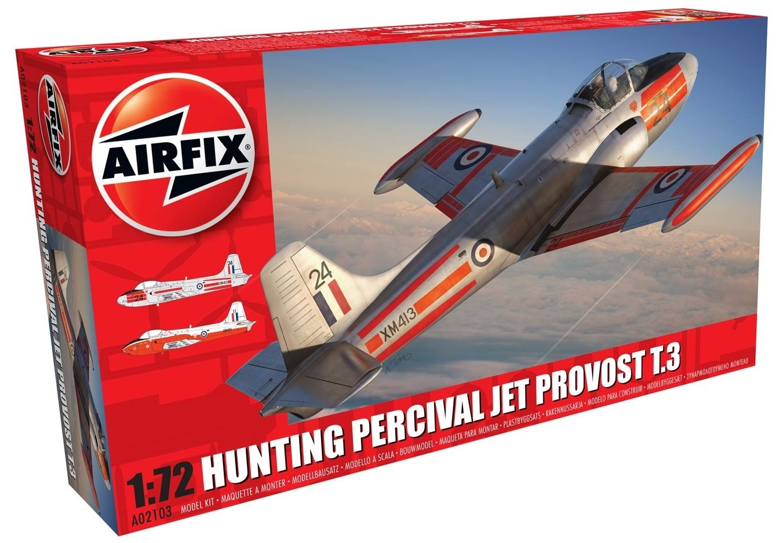 Airfix 1:72 Hunting Percival Jet (Provost T.3/T.3a) - Model Kit image
