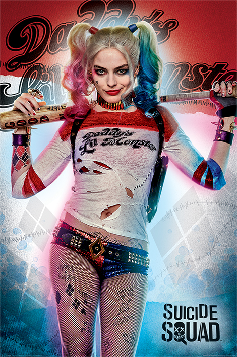 Suicide Squad - Daddy's Little Monster Maxi Poster (595)