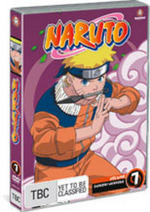 Naruto (Uncut) - Vol. 7: The Forest Of Death on DVD