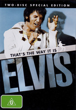 Elvis - That's The Way It Is: Special Edition (2 Disc Set) on DVD