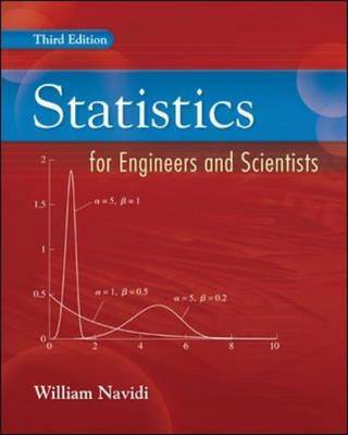 Statistics for Engineers and Scientists by William C. Navidi image