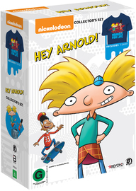 Hey Arnold Collector's Set (includes t-shirt) on DVD
