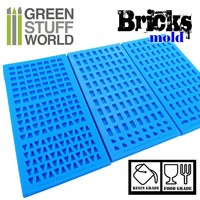 Green Stuff World : Bricks Silicone Mold