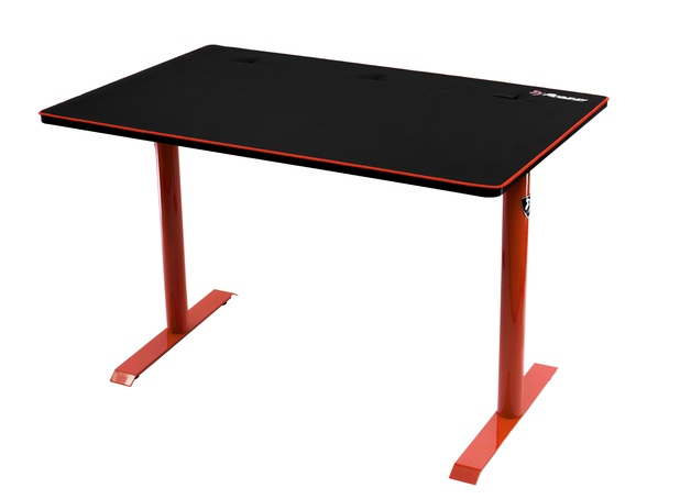 Arozzi Arena Leggero Gaming Desk (Red) for