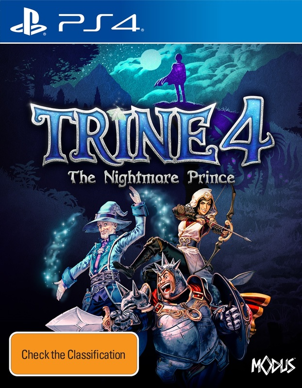 Trine 4: The Nightmare Prince for PS4