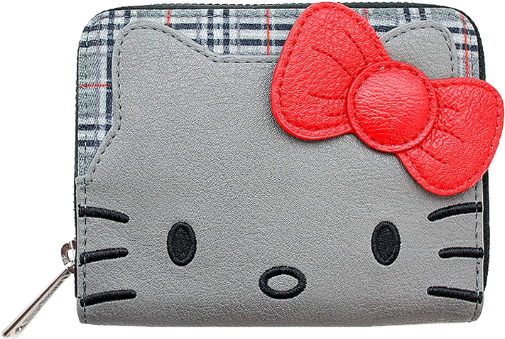 Loungefly: Hello Kitty - Grey Bifold Wallet with Bow image
