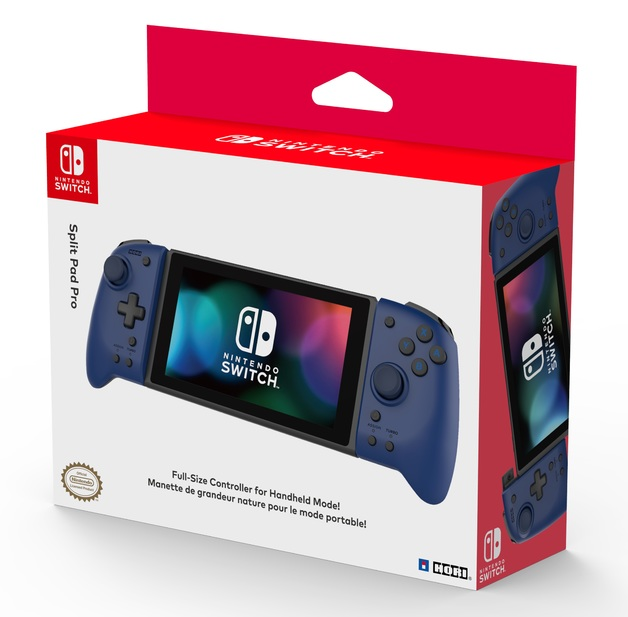Switch Split Pad Pro (Blue) by Hori for Switch