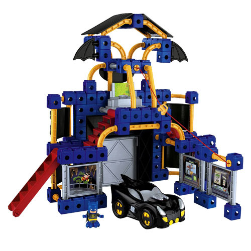 Fisher Price Batman Toys : Fisher price trio batcave batman playset toy at mighty