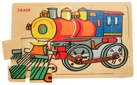 Fun Factory: Train Jigsaw Puzzle