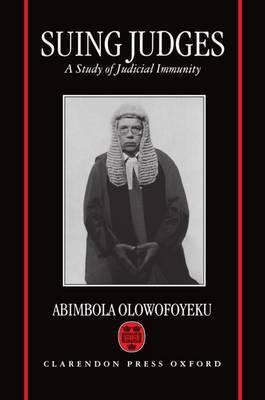 Suing Judges by Abimbola Olowofoyeku image