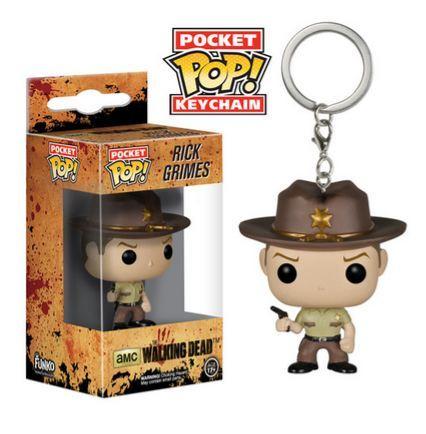 The Walking Dead Rick Grimes Pop! Keychain