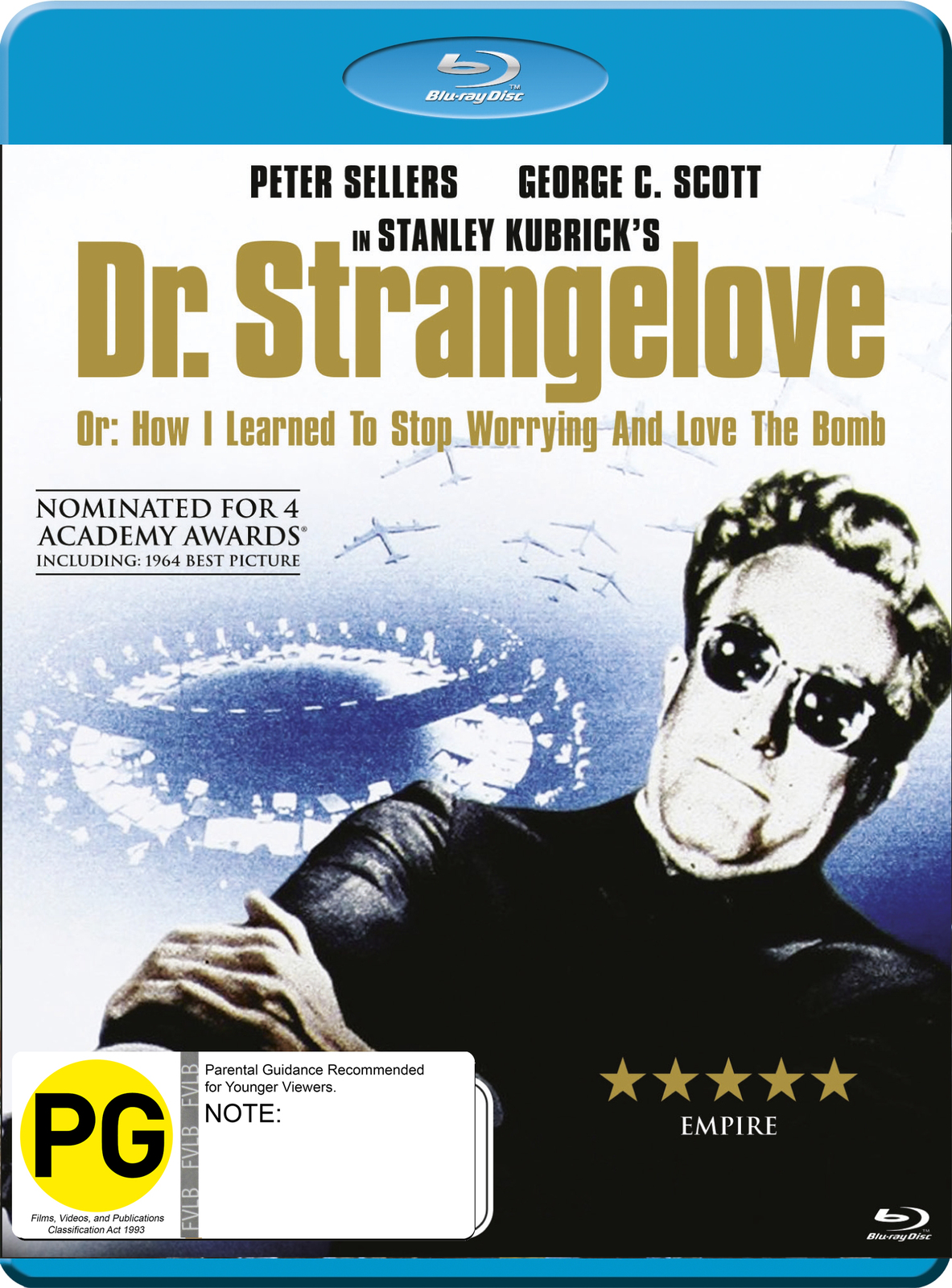 Dr. Strangelove on Blu-ray image