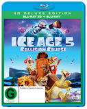 Ice Age 5: Collision Course (3D + 2D) DVD