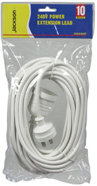 Jackson Standard Power Extension Cord (10M)
