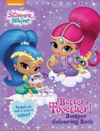 Shimmer and Shine Better Together Bumper Colouring Book image