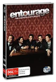 Entourage - Complete Season 6 (3 Disc Set) on DVD