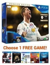 PS4 Slim 1TB FIFA 18 Ronaldo Edition Bundle for PS4 image