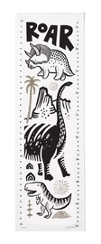 Wee Gallery: Organic Canvas Growth Chart - Dino image