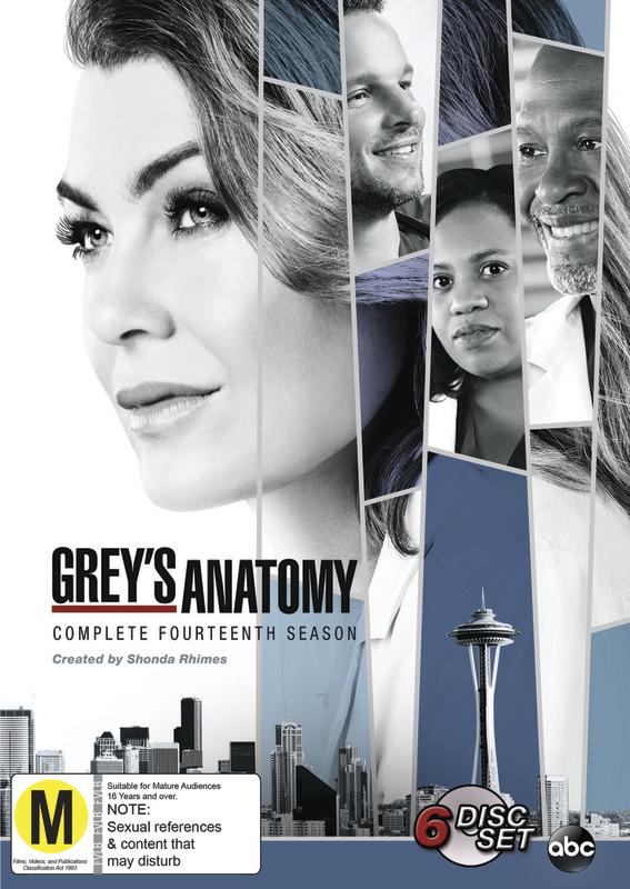 Grey's Anatomy Season 14 on DVD