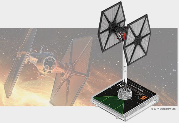 Star Wars X-Wing Second Edition TIE/sf Fighter Expansion Pack