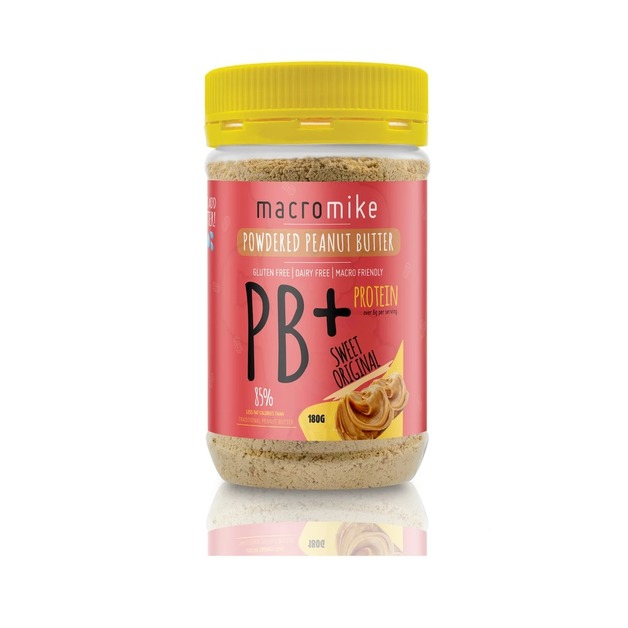 Macro Mike PB+ Powdered Peanut Butter - Original (180g)