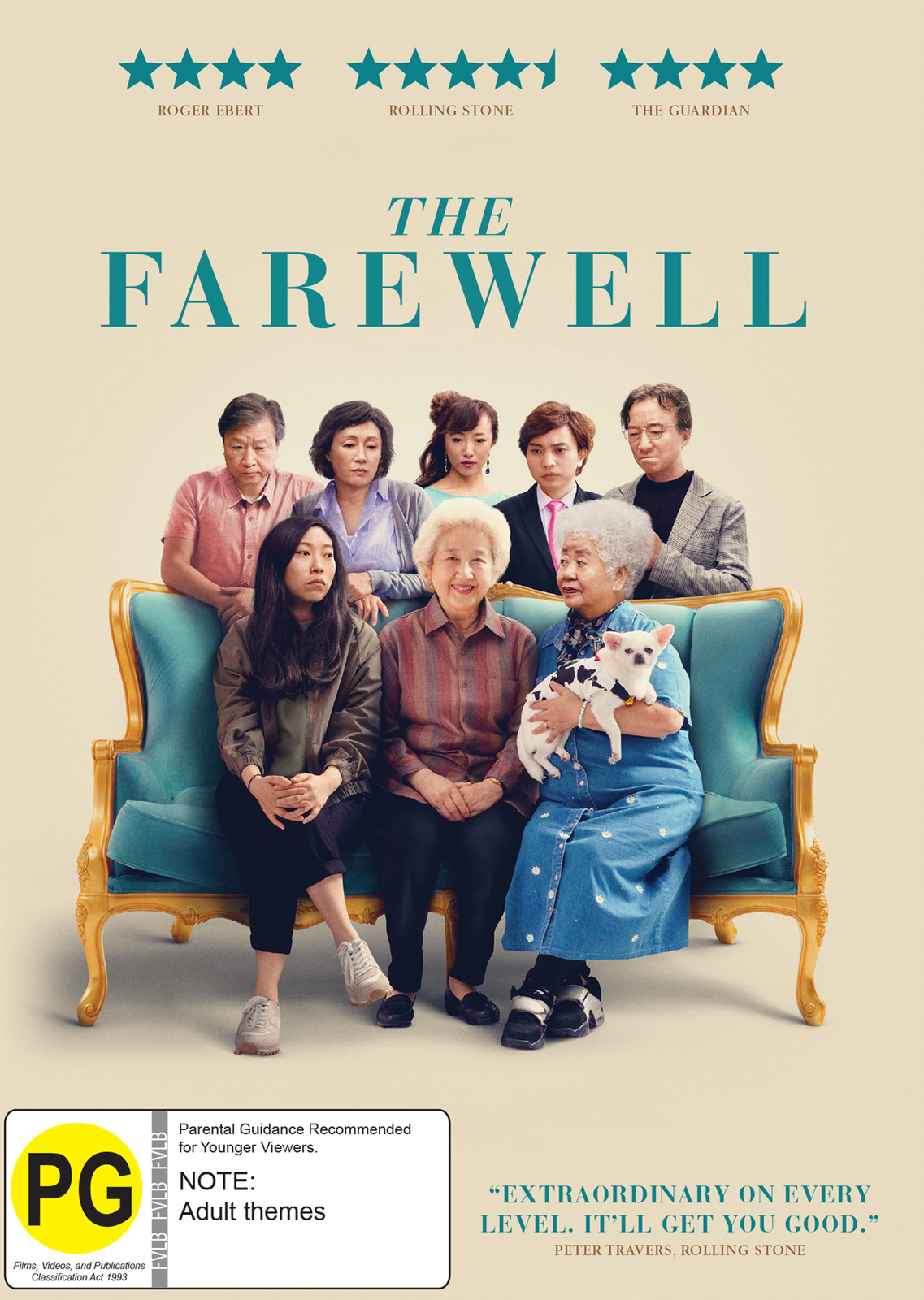 The Farewell on DVD image