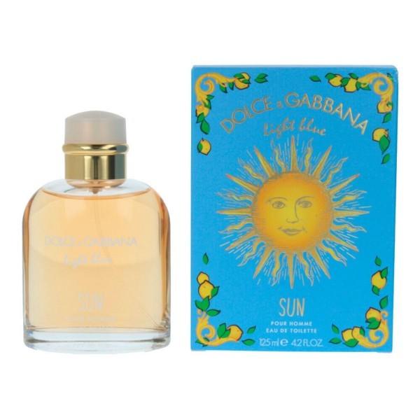Dolce & Gabbana: Light Blue Sun Pour Homme Fragrance (EDT, 120ml)