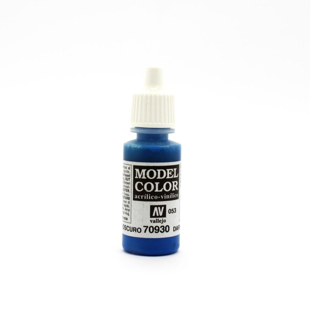 Vallejo Model Colour Dark Blue 17ml image