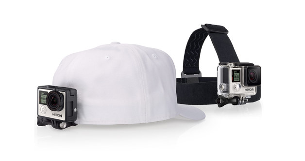 GoPro Head Strap and QuickClip