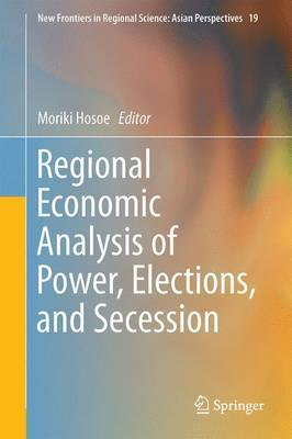 Regional Economic Analysis of Power, Elections, and Secession image