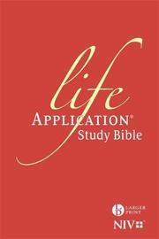 NIV Larger Print Life Application Study Bible (Anglicised) by New International Version