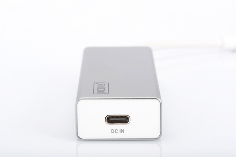 Digitus Type-C to USB3.0 3 Port Hub with Power Delivery (PD) image
