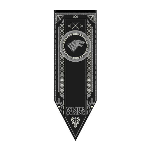Game of Thrones - Stark Tournament Banner