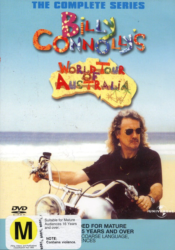 Billy Connolly - World Tour Of Australia (2 Disc) on DVD image