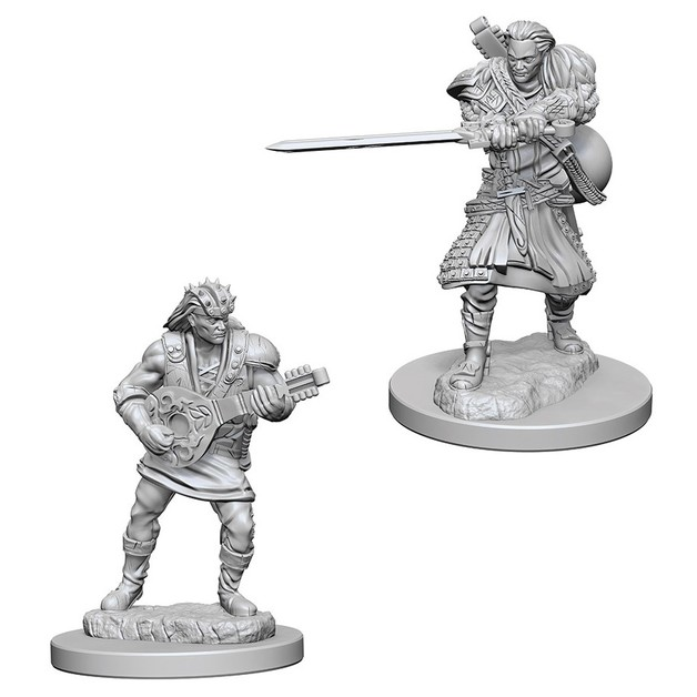 D&D Nolzurs Marvelous: Unpainted Miniatures - Human Male Bard
