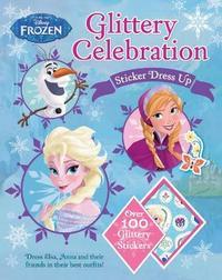 Disney Frozen Glittery Celebration Sticker Dress Up by Parragon Books Ltd image
