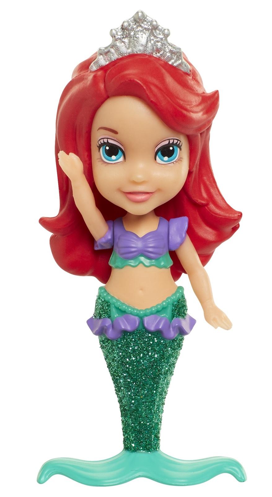 7707f427190 ... Disney Princess  My First Mini Toddler Doll - Ariel (Mermaid) image