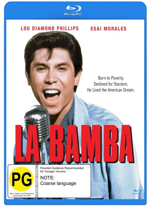 La Bamba on Blu-ray
